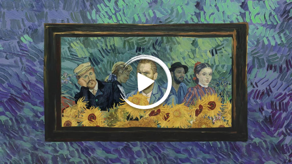 Motion Graphic Trailer for Loving Vincent (54″)