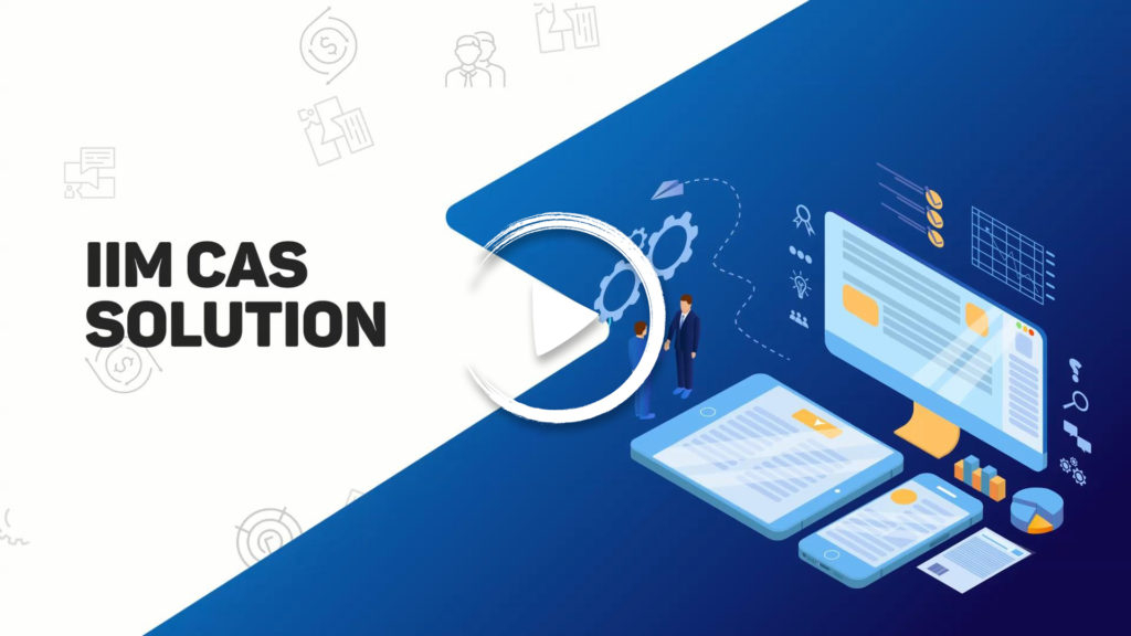 "Product Promotion Animation for IIM CAS Solution(3'10"")"