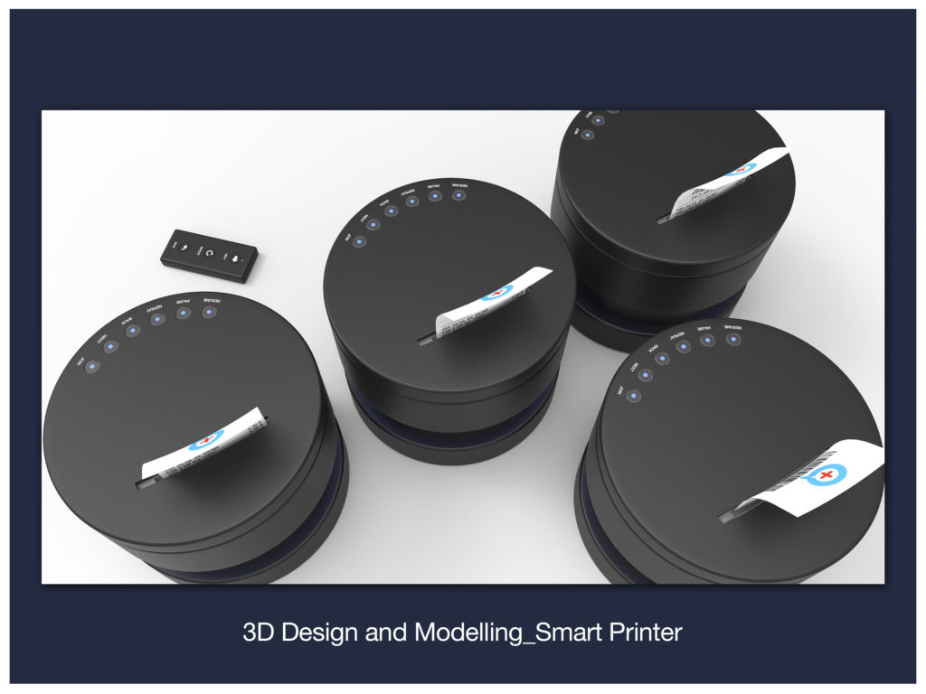 3D Design and Modelling_Smart Printer