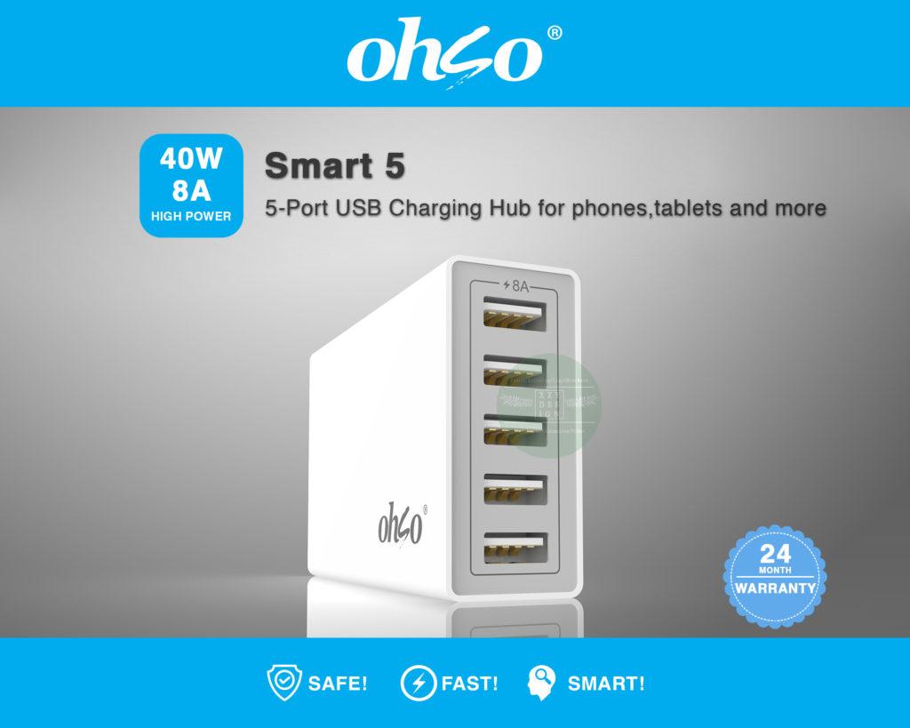 3D Modelling_USB Charging Hub