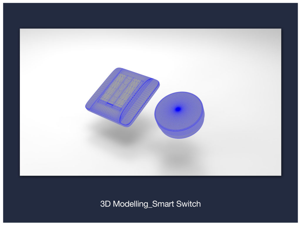 3D Modelling_Smart Switch