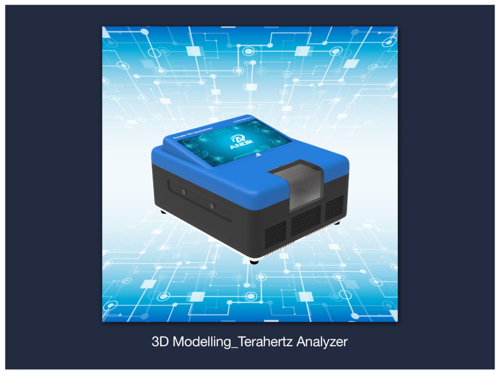 3D Modelling_Terahertz Analyzer (Drag to Rotate)
