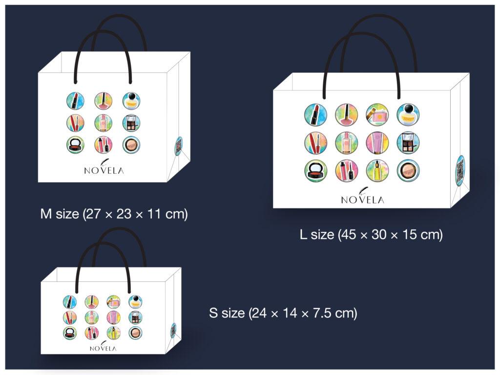 Shopping Bag Design for Novela