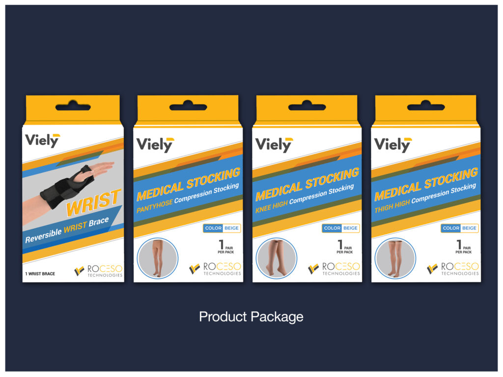 Product Packages for Viely