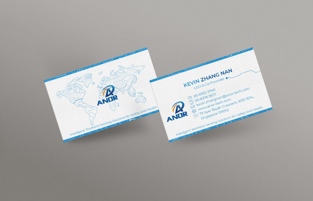 Technology Company Name Card