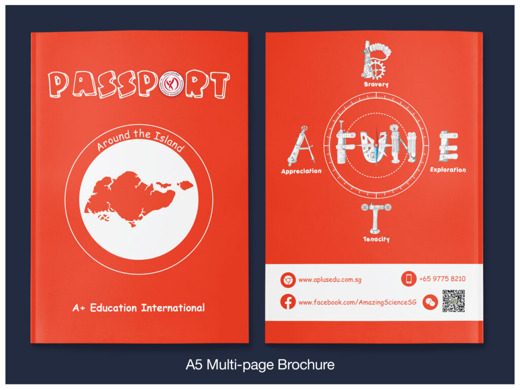 Read more about the article Business Brochures for A+ Education International